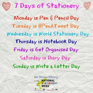 7 Days of Stationery