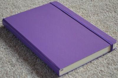 Leuchtturm 1917 Notebook in purple, A5 size & lined