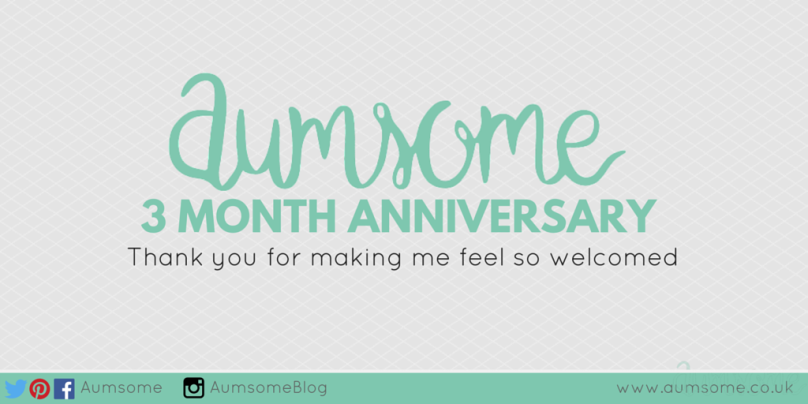 Aumsome 3 Month Anniversary