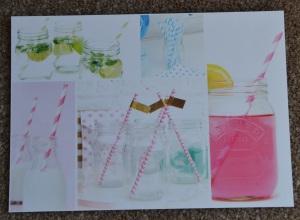 Paper Straws Postcard