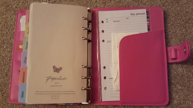Paperchase Personal Organiser (19)
