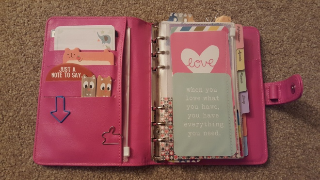 Paperchase Personal Organiser - Planner Set Up