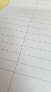 Rhodia Paper Project Week 21 Purple Lines