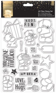 Docrafts Forever Friends stamps