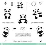 Mama Elephant Pandamonium stamps
