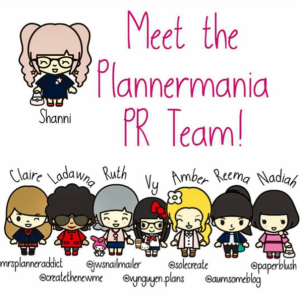 Plannermania PR Team