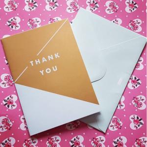 Kikki.K - Thank You card