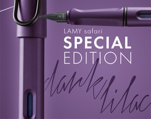 Lamy Safari Dark Lilac Limited Edition 2016