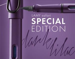 Lamy Safari Dark Lilac Limited Edition 2016