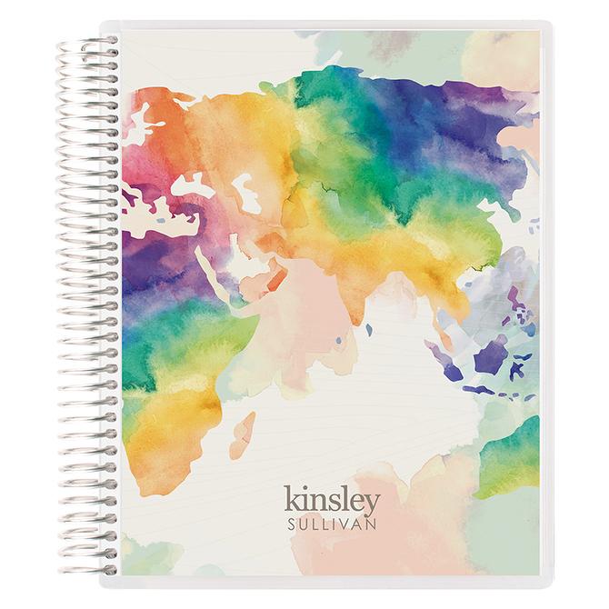 EC Watercolor World Notebook