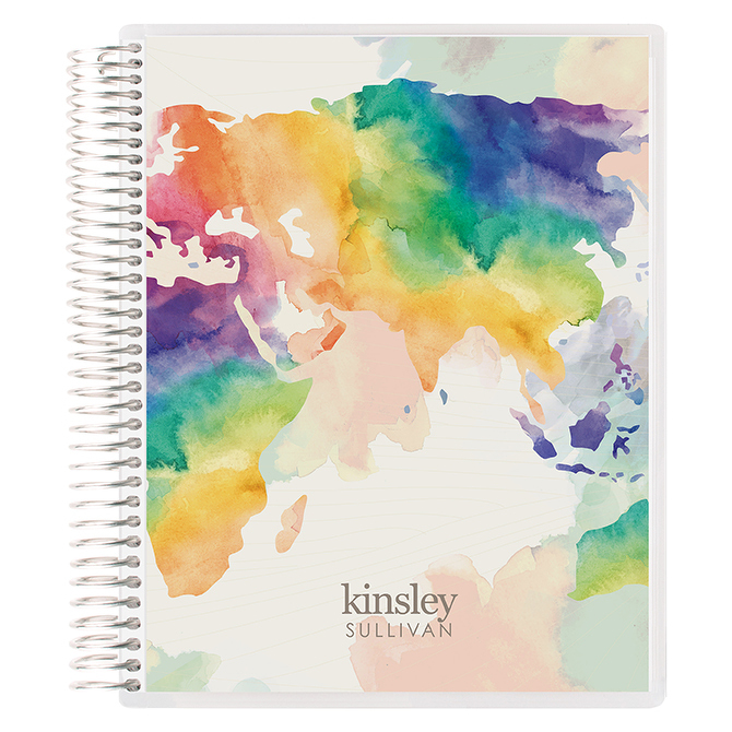 EC Watercolor World Notebook