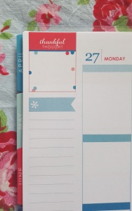 Erin Condren LifePlanner 2016 Thankful Thought