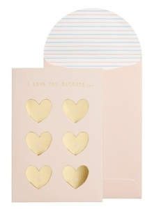 Met You DIY message card from Kikki K