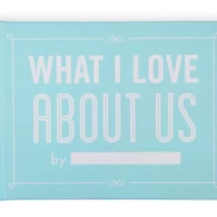 Paperchase Novelty Book: What I love about us